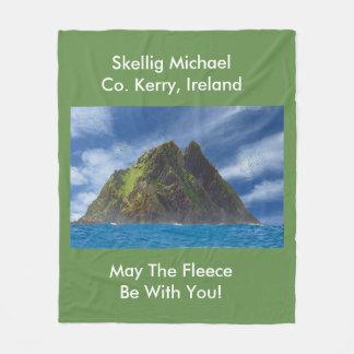 Irish image for Fleece Blanket, Medium