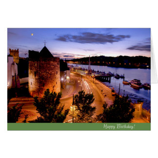 Irish image for Irish Birthday greeting card