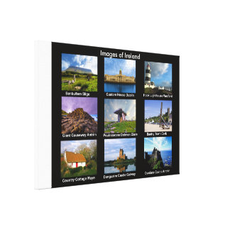 Irish Images for wrapped-canvas Canvas Print