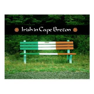 Irish in Cape Breton Postcard