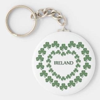 Irish In My Heart Basic Round Button Keychain