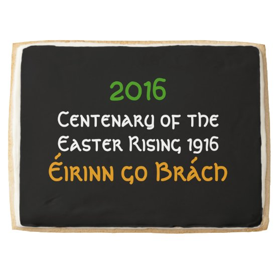 Irish Independence 1916 Easter Rising Centenary Shortbread Cookie