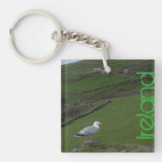 Irish Ireland Countryside Keychain