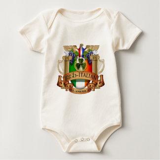 Irish Italian all American Baby Creeper