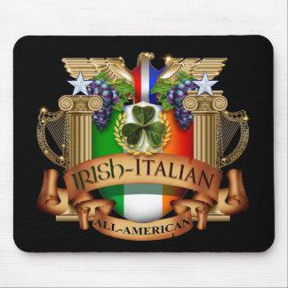 Irish Italian all American Mouse Pad