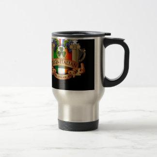Irish Italian all American Travel Mug