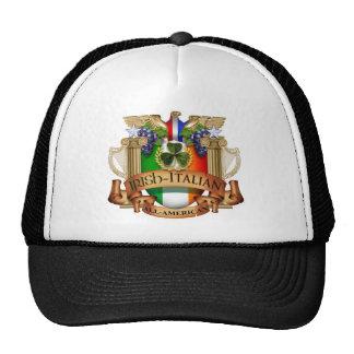 Irish Italian all American Trucker Hat