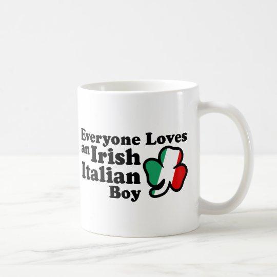 Irish Italian Boy Coffee Mug