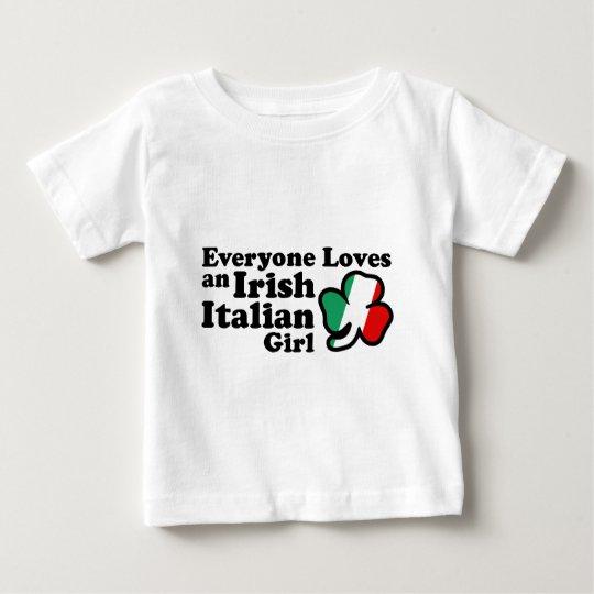 Irish Italian Girl Baby T-Shirt
