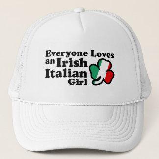Irish Italian Girl Trucker Hat