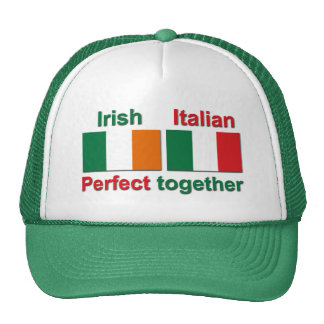 Irish Italian - Perfect Together! Trucker Hat