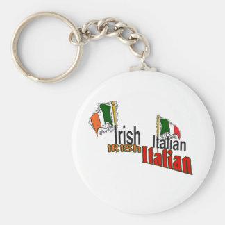 IRISH ITALIAN ST. PATRICK'S DAY KEYCHAIN