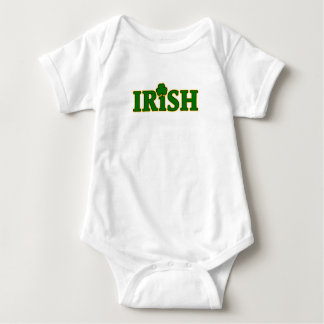Irish It's In My Blood Alcohol Level Funny Gift Baby Bodysuit