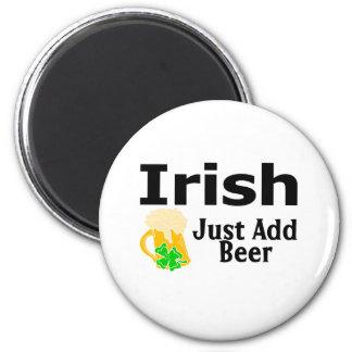 Irish Just Add Beer Magnet