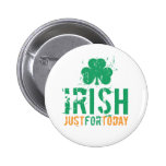 Irish - Just for Today Button