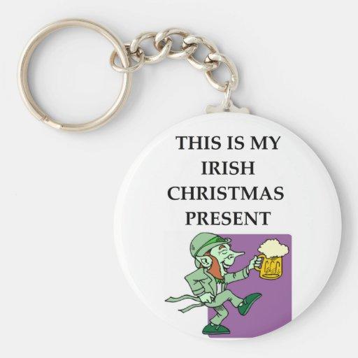 irish key chains