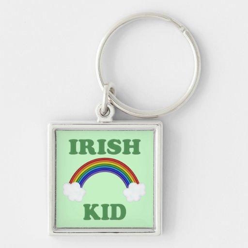 Irish Kid Rainbow Keychains