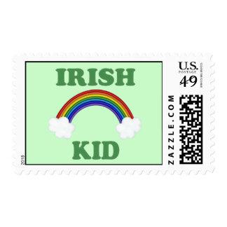 Irish Kid Rainbow Stamps