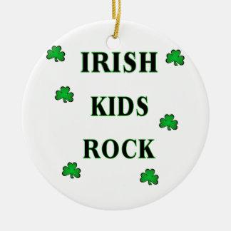 Irish Kids Rock Ornament