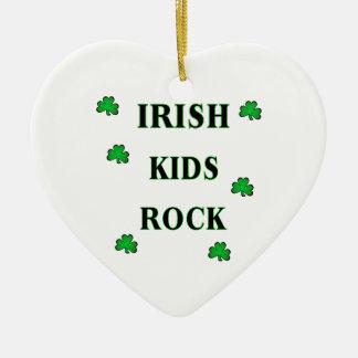 Irish Kids Rock Ornaments