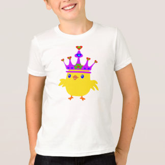 ♫♥Irish King Chicken Kids' Retro Ringer T-Shirt♥♪ T-Shirt