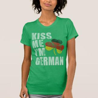 Irish Kiss Me I'm German St Patrick's Day T Shirt