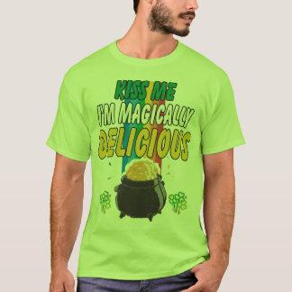 Irish - Kiss Me I'm Magically Delicious T-Shirt