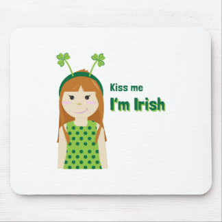 Irish Kiss Mouse Pads