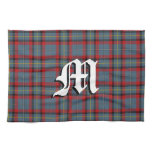 Irish Kitchen Clan MacNamara Tartan Plaid Hand Towel