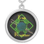 Irish Knitter Necklace