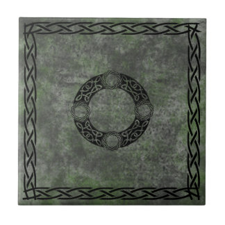 Irish Knot Designs Ceramic Tile
