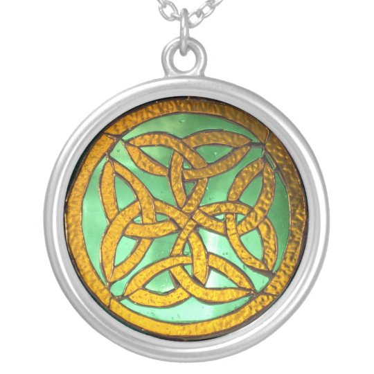 Irish Knot Sterling Silver Pendant