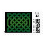 Irish knotwork #2 St. Patrick's Day Stamps
