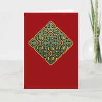 Irish Knotwork Christmas Card