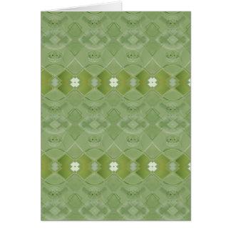 Irish Lace - Chelsea Cucumber Green Card