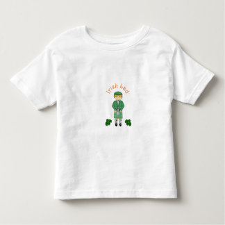 Irish Lad Toddler Boy Shirt