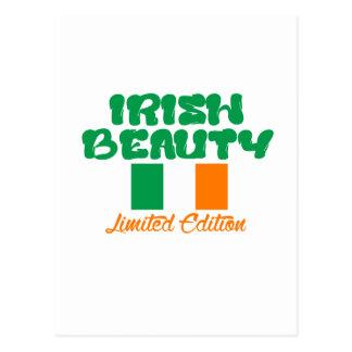 IRISH LADY designs Postcard
