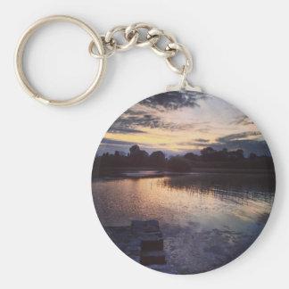 Irish lake key chain