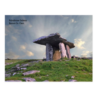 Irish Landmarks postcard