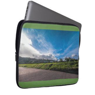 Irish landscape computer sleeve