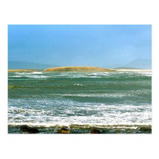 """IRISH LANDSCAPE """"SEASCAPE"""" POSTCARD"""