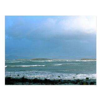 """IRISH LANDSCAPE """"SEASCAPE"""" POSTCARD II"""