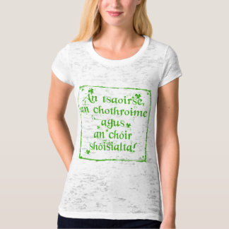 Irish Language Heritage T-Shirt