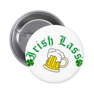 Irish Lass Beer Pins