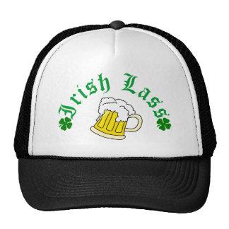 Irish Lass Beer Trucker Hat