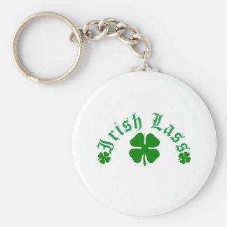 Irish Lass Keychain