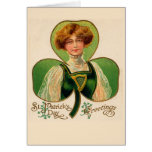 Irish Lass St. Patrick's Day Greeting Card