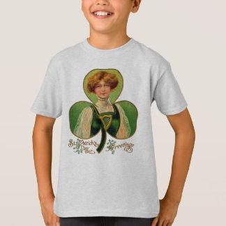 Irish Lass St. Patrick's Day Kid's Shirt