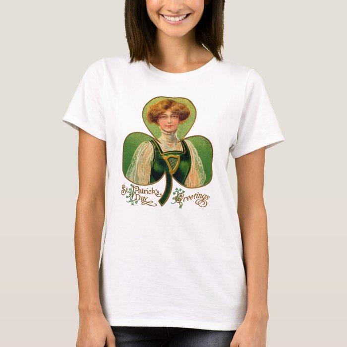 Irish Lass St. Patrick's Day Women's Shirt