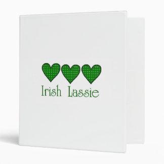 Irish Lassie 3 Ring Binder